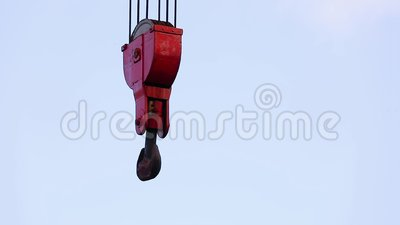 Viejo Crane Hook metrajes