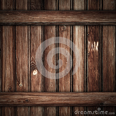 Viejo fondo de madera de los tablones de Grunge