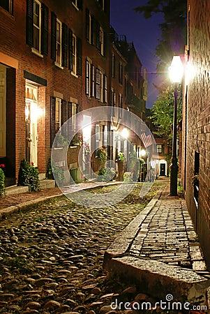 Viejo victorian Boston