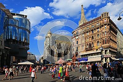 Vienna, Austria Editorial Photography