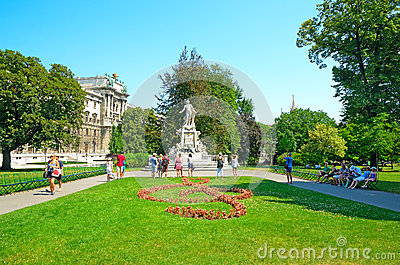 Vienna, Austria Editorial Stock Photo