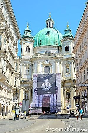 Vienna, Austria Editorial Stock Photo