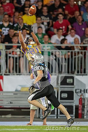 Austrian Bowl XXVIII - Vikings vs. Raiders Editorial Stock Image