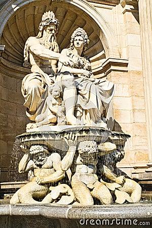 Vienna, Austria - Neptune Fountain