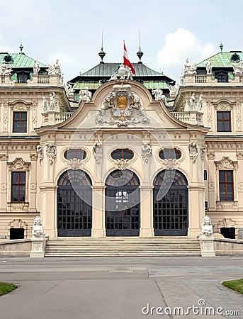 Vienna -  Belvedere, Upper