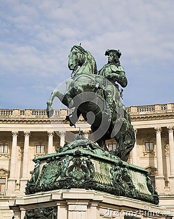Vienna - emperor Franz Joseph I landmark