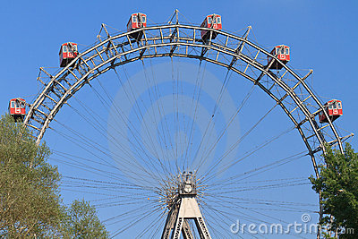 Vienna Giant Ferries Wheel (Riesenrad)