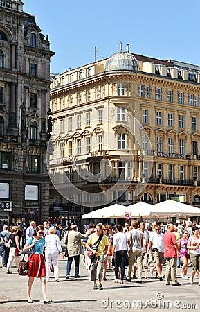 Vienna. Historical center Editorial Image