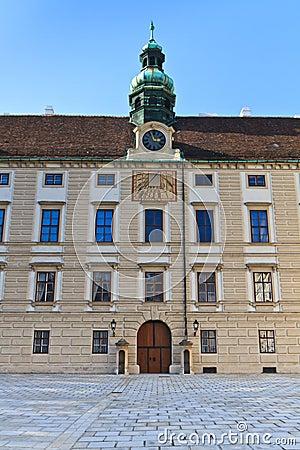 Vienna Hofburg Palace - Inner Square