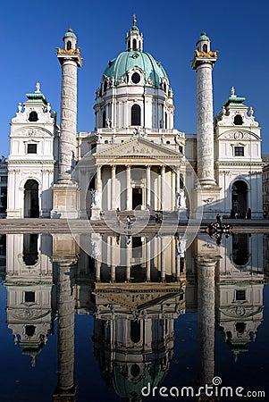 Vienna - Karlskirche Church