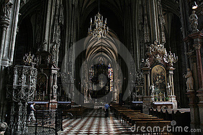 Vienna landmark inside