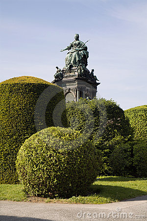 Vienna - Maria Theresia landmark