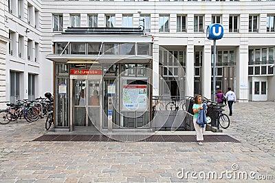 Vienna metro Editorial Photo