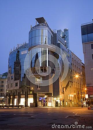 Modern Architecture Vienna vienna architecture stock photo - image: 35477760