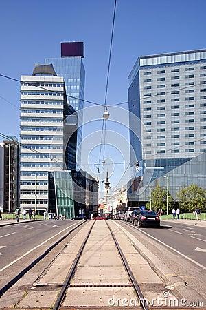 Vienna. Municipal landscape