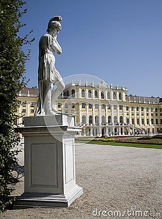 Vienna - mythology statue - Schonbrunn