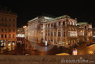 Vienna_night Editorial Photography