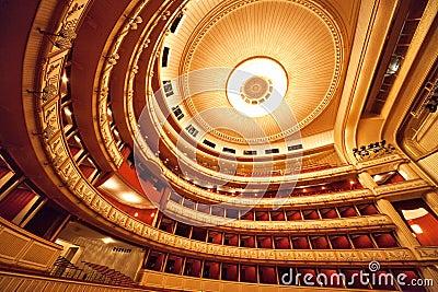 Vienna Opera interior