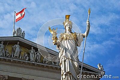 Vienna Pallas Athene parliament architecture
