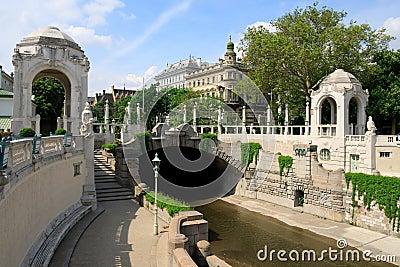 Vienna Stadtpark - Art Nouveau entrance
