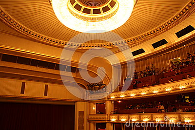 Vienna State Opera - interior Editorial Photography