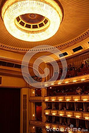 Vienna State Opera - interior Editorial Photo