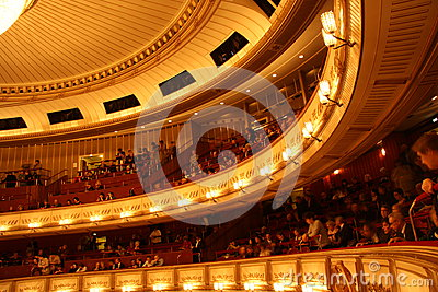 Vienna State Opera - interior Editorial Stock Photo