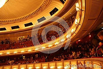 Vienna State Opera - interior Editorial Stock Photo