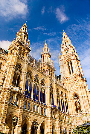 Vienna town hall architecture