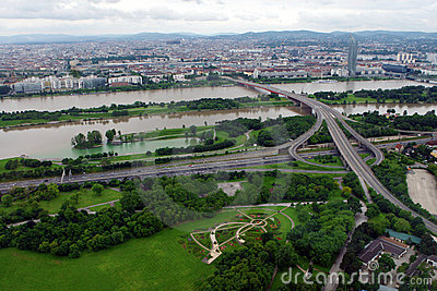 Vienna, view from above