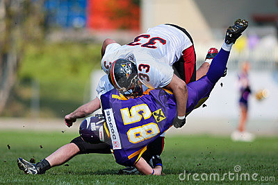 Vienna Vikings vs. Carinthian Black Lions Editorial Image