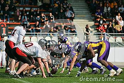 Vienna Vikings vs. Carinthian Black Lions Editorial Photography