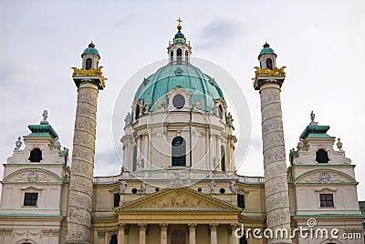 Viennas karlskirche