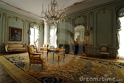 Viennese Room Interior Editorial Stock Image