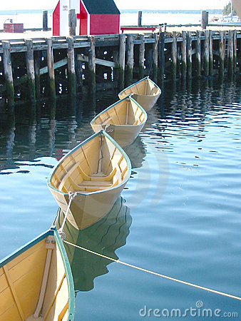 Vier Boote