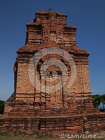 Vietnam Champa temple