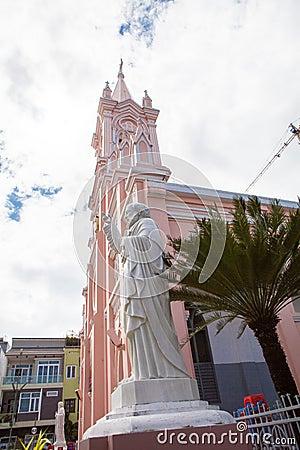 Free Vietnam Danang Cathedral Royalty Free Stock Image - 37873316