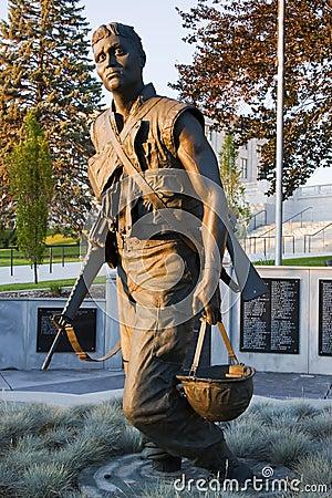 Vietnam Memorial at the Utah State Capitol