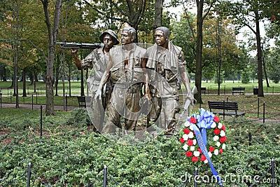 Vietnam Statue Editorial Image