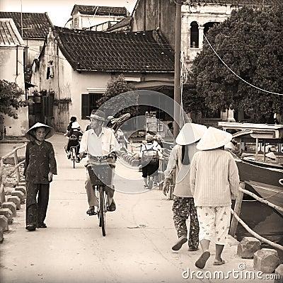 Vietnam - Vietnamese people Editorial Image