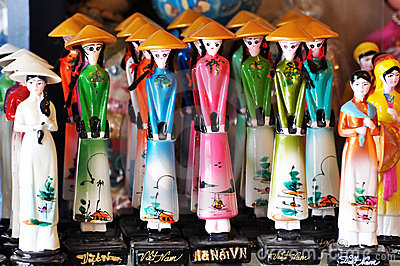 VietNam traditional dolls