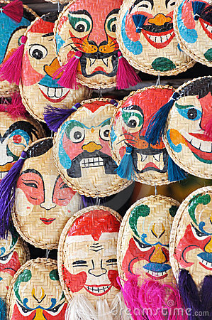 Free VietNam Traditional Mask Stock Image - 15271941