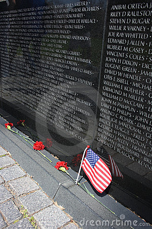 Vietnam War Memorial Editorial Image