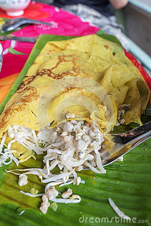 Free Vietnamese Crepe (Banh Xeo), Ben Tre Province, Vietnam Royalty Free Stock Image - 73709816