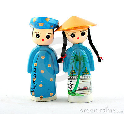 Free Vietnamese Dolls Stock Photography - 4994802