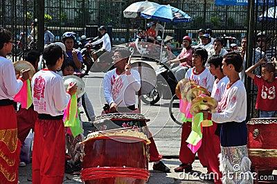 Vietnamese new year Editorial Photo