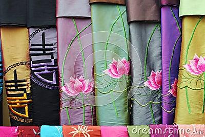 Vietnamese scarves