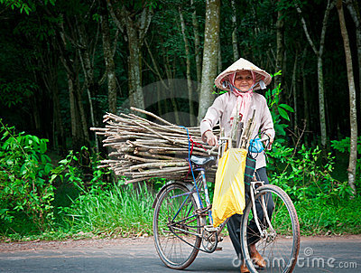 Vietnamese Woman Editorial Photography