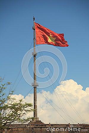 Vietnamesische Markierungsfahne