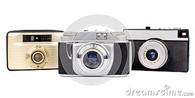 Vieux appareils-photo